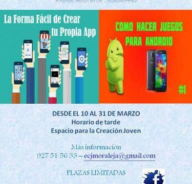 El ECJ de Moraleja llevará a cabo un curso de iniciación a la programación móvil a partir de este viernes