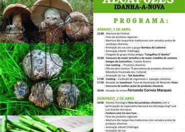 El V Festival de los Espárragos, Criadillas y Setas llegará a Idanha-a-Nova los días 1 y 2 de abril