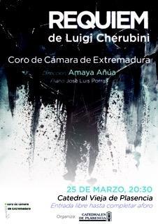 El Coro de Cámara de Extremadura interpretará este sábado en Plasencia el Requiem de Cherubini