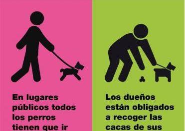 La Policía Local de Moraleja lanza una campaña sobre el cuidado de los perros en la vía pública