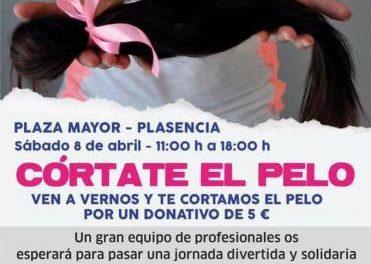 La ciudad de Plasencia acogerá el próximo 8 de abril un evento de Mechones Solidarios