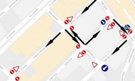 El barrio de San Cristóbal de Moraleja cuenta con nueva reordenación del tráfico en un total de seis calles