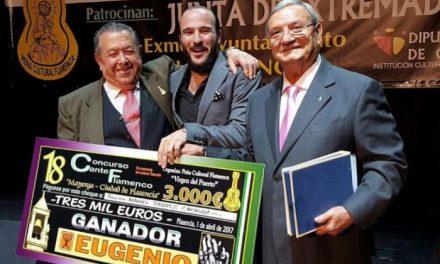 """El cantaor Manuel Pajares gana el XVIII Concurso de Cante Flamenco """"Mayorga-Ciudad de Plasencia"""""""