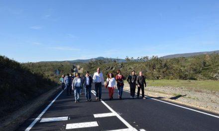 Las obras de la carretera CC-13.2 facilitan el acceso al Conjunto Histórico Artístico de Granadilla