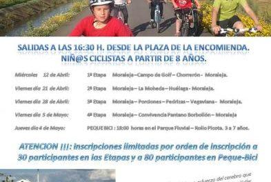 Moraleja celebrará el IX Mes de la Bicicleta con rutas por diferentes parajes de su término municipal