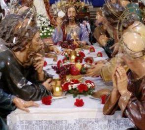 La Hermandad de la Sagrada Cena de Plasencia portará los pasos de nuestra Señora del Amor y de la Sagrada Cena