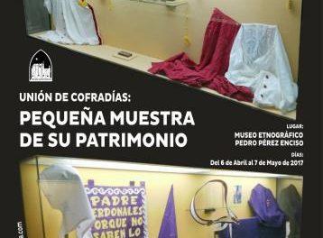 El museo Pérez Enciso de Plasencia acoge hasta el 7 de mayo una exposición de la Unión de Cofradías