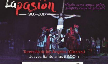 La representación de La Pasión espera reunir en Torrecilla de los Ángeles a unas 5.000 personas