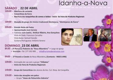 El municipio luso de Toulões celebrará los días 22 y 23 la II Feria de la Rosa Albardeira con música y naturaleza