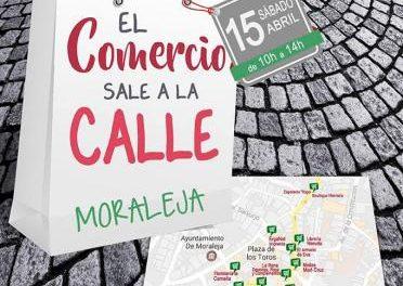 """Más de una veintena de establecimientos de Moraleja participa este sábado en """"El comercio sale a la calle"""""""