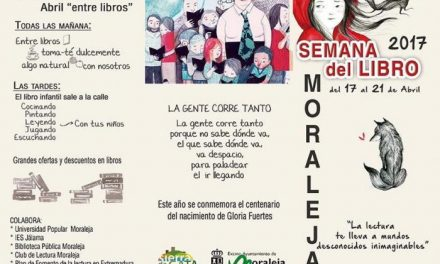 """Moraleja dará comienzo este lunes a la Semana del Libro con la obra """"Cartas para Extremadura"""""""