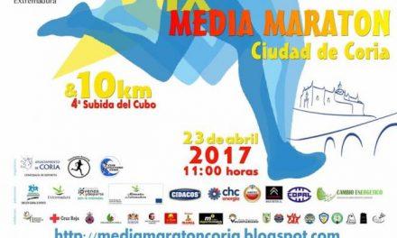 Coria cortará al tráfico este domingo las principales avenidas con motivo de la IX Media Maratón