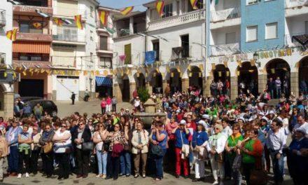 Más de 500 mujeres de la provincia participan en un encuentro celebrado en Casar de Palomero