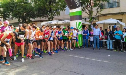 El abulense Roberto Rubén Jiménez y la cauriense Sara Barrios ganan la IX Media Maratón de Coria