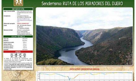 Los Miradores del Duero será el destino de la próxima ruta creada por el departamento de Deportes de Coria