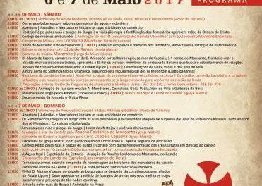 Monsanto se adentrará en el medievo para celebrar los días 6 y 7 de mayo la Fiesta de la Divina Santa Cruz