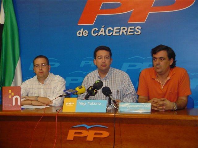 El PP afirma que el PSOE origina una situación de «desamparo» en la Mancomunidad Tajo Salor