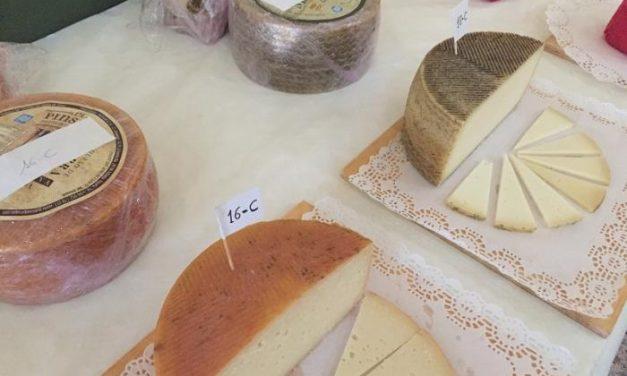 Dos quesos extremeños y dos malagueños ganan la cata concurso de la Feria Nacional del Queso de Trujillo