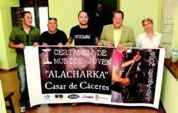 Casar de Cáceres organiza el primer festival de música joven para para todos los grupos o solistas extremeños