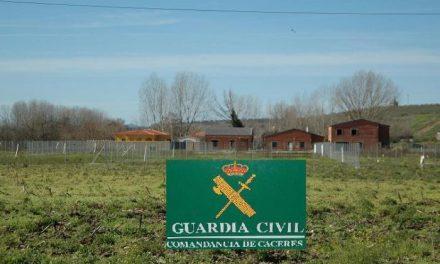 El Seprona detiene a 4 vecinos de Coria por construir en zonas de protección agrícola