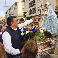 La Virgen de Argeme regresa este lunes a su santuario para la celebración de la romería en su honor