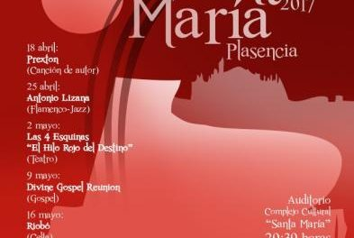 Las Noches de Santa María de Plasencia continúan este martes con la actuación del grupo Riobó