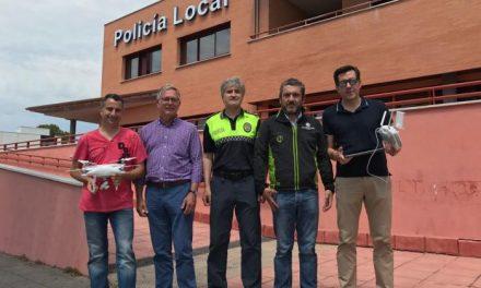 Plasencia hace pruebas con un dron con el objetivo de utilizarlo para la prevención de incendios este verano