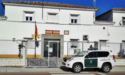 Detienen a tres personas por siete robos en bares y establecimientos comerciales de Zalamea de la Serena