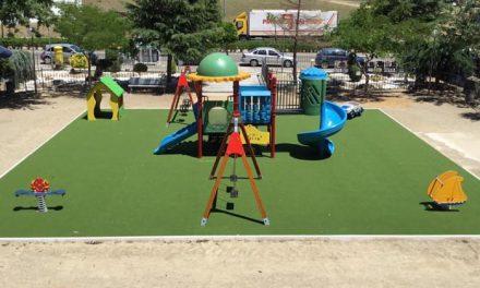 Los vecinos de Moraleja ya pueden disfrutar de las mejoras del parque Emeterio Martín Mateos