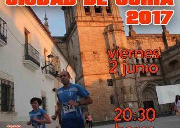 El casco histórico de Coria será el escenario el día 2 de junio del XXXIII Cross Urbano