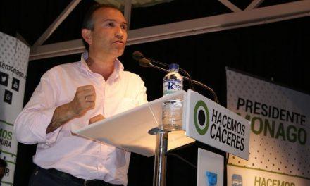 Laureano León repite como presidente del PP de Cáceres tras ser elegido con 1.207 votos