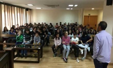 Cerca de 50 jóvenes de Castelo Branco visitan Moraleja con motivo del intercambio con el IES Jálama