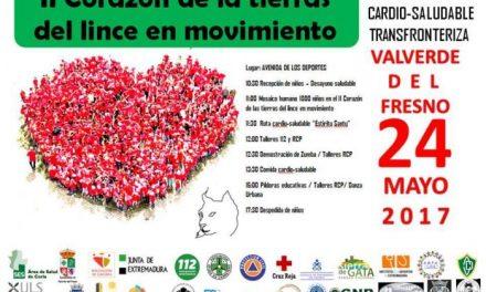 Más de 1.000 niños participarán este miércoles en una convivencia cardiosaludable en Valverde