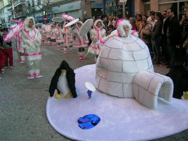 Navalmoral comienza los preparativos del carnaval de 2008, que se celebrará del 1 al 6 de febrero de 2008