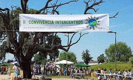 Más de 600 niños de tres colegios de Moraleja participan en la II Convivencia Intercentros