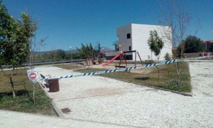 El parque del Campocanario de Moraleja permanecerá cerrado hasta este jueves por problemas de avispas