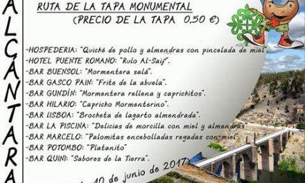 Alcántara repartirá este sábado unas 2.500 piezas de mormenteras en el entorno del Puente Romano