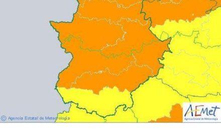 La provincia de Cáceres permanece en alerta naranja por temperaturas de 41 grados este domingo