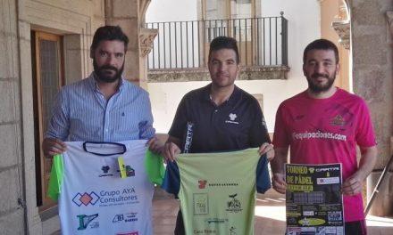El Torneo de Pádel de Plasencia repartirá alrededor de 1.500 euros en premios además de otras sorpresas