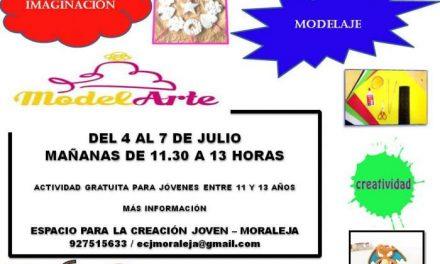 """El ECJ de Moraleja llevará a cabo el proyecto """"Modelarte"""" para que los más pequeños desarrollen la creatividad"""