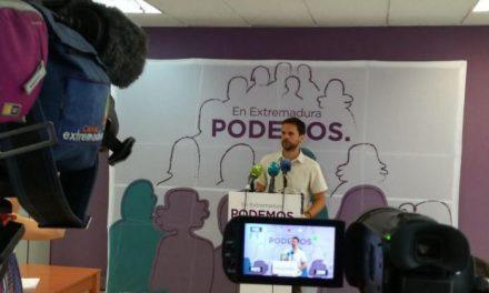 Podemos denuncia la creación de un puesto para el hermano de Pedro Sánchez en la Diputación de Badajoz