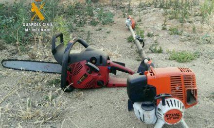 La Guardia Civil detiene al presunto responsable del robo de herramientas en Monterrubio de La Serena
