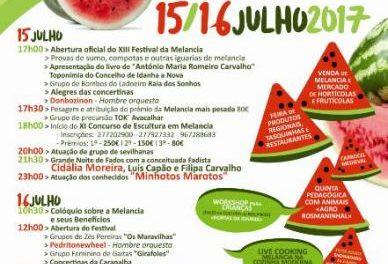 El municipio luso de Ladoeiro ultima los preparativos para celebrar los días 15 y 16 el XIII Festival de la Sandía