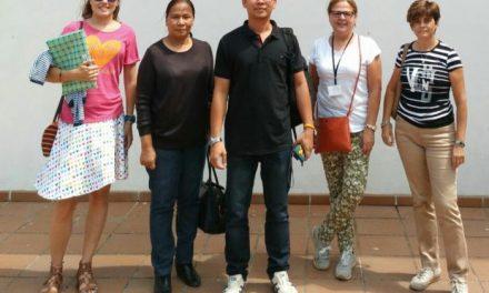 Autoridades de Tailandia visitan a cereceros del Jerte para conocer los sistemas fitosanitarios