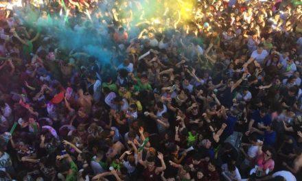 Moraleja da comienzo a San Buenaventura con cientos de personas bailando al son de la música de Chaparro