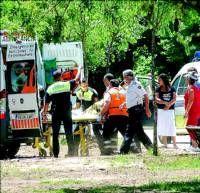 Un vecino de Plasencia se tira al río Jerte para salvar a un hombre de ahogarse en el parque de La Isla