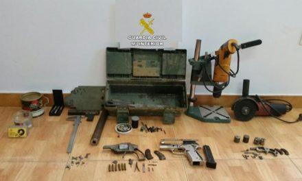 Detienen a dos vecinos de Plasencia y Zarza de Granadilla por tenencia ilícita y tráfico de armas