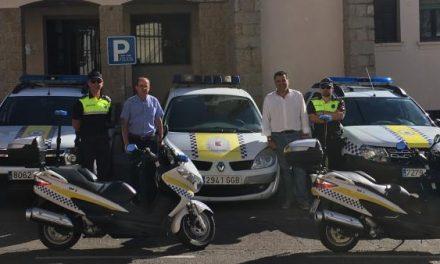 La Policía Local de Coria amplía su parque automovilístico con la adquisición de un coche
