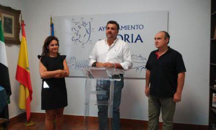 El alcalde de Coria anuncia nuevos proyectos importantes en la ciudad para los próximos meses