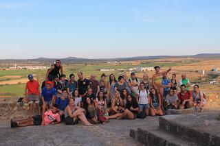 El campo de trabajo de Placeat en San Gil está acogiendo a 17 voluntarios durante quince días